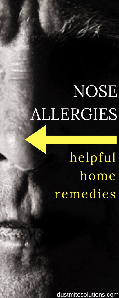nose allergies home remedies