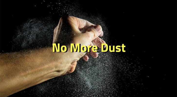 how do you get rid of dust in the house
