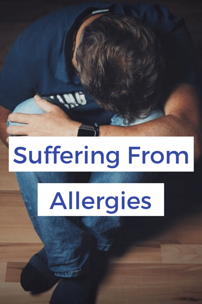 suffering from severe allergies