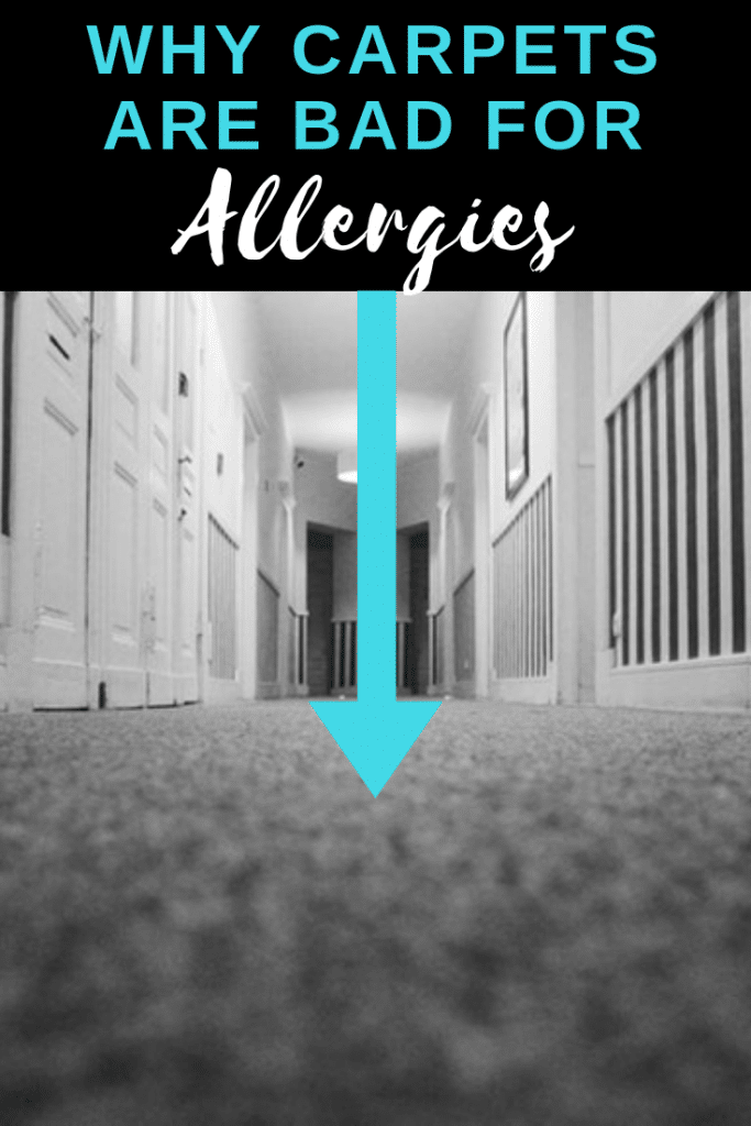 why carpets are bad for allergies